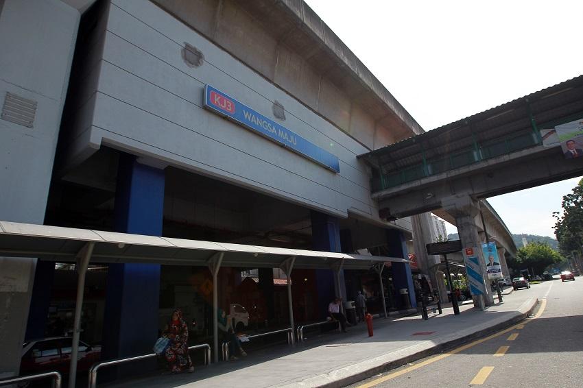 Wanga Maju LRT station