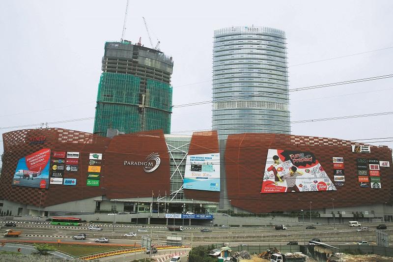 Kelana Jaya Paradigm Mall property