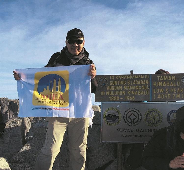Erick Kho Mount Kinabalu