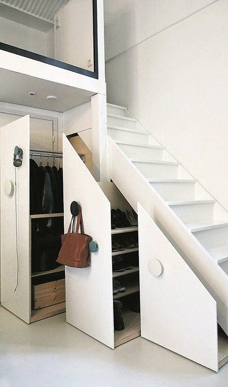 7 Inspiring Ideas For That Empty Space Under The Stairs