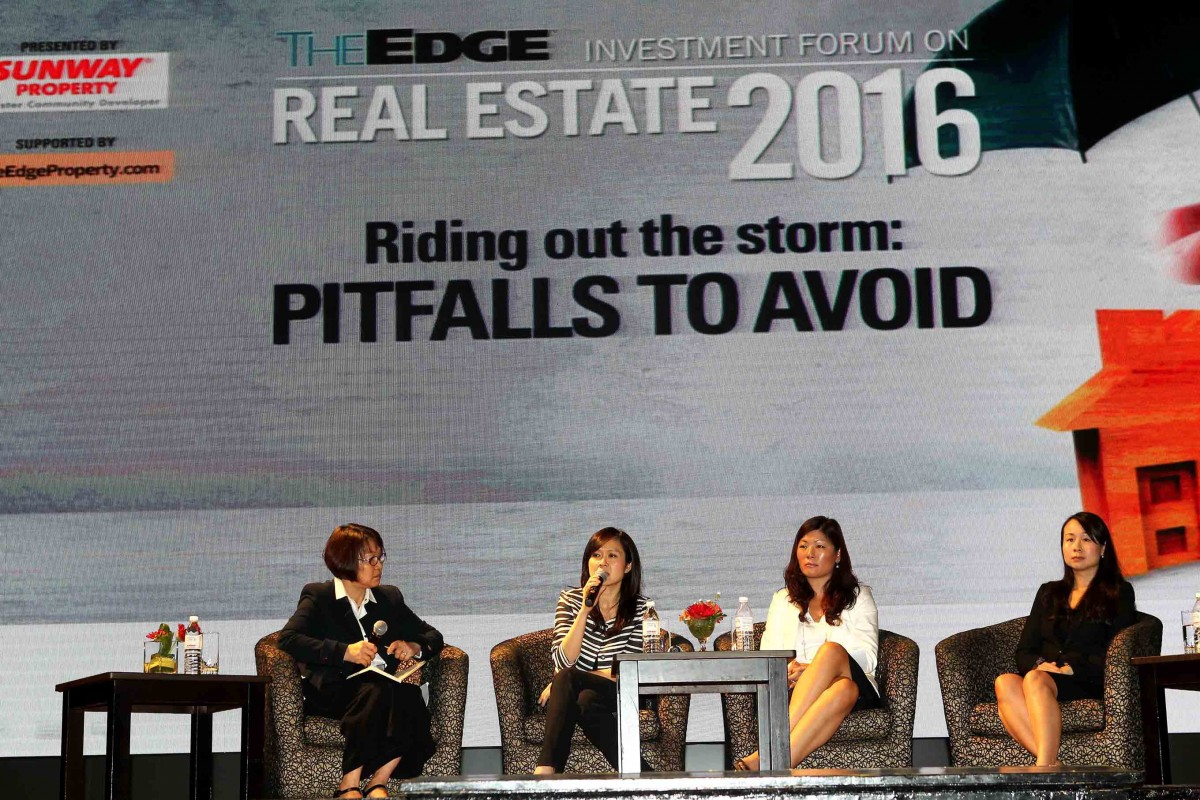 REIF 2016 panel discussion