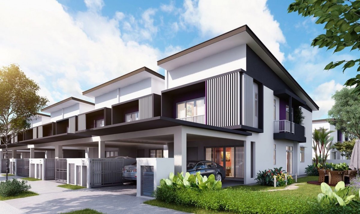 Ijm land to launch phase 2 of rimbun vista this september for Roof height of 2 story house