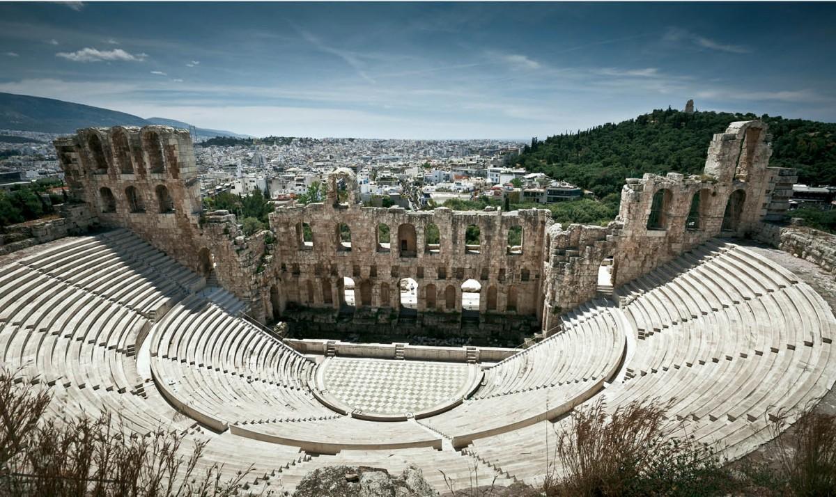 Odeion of Herodes Attius
