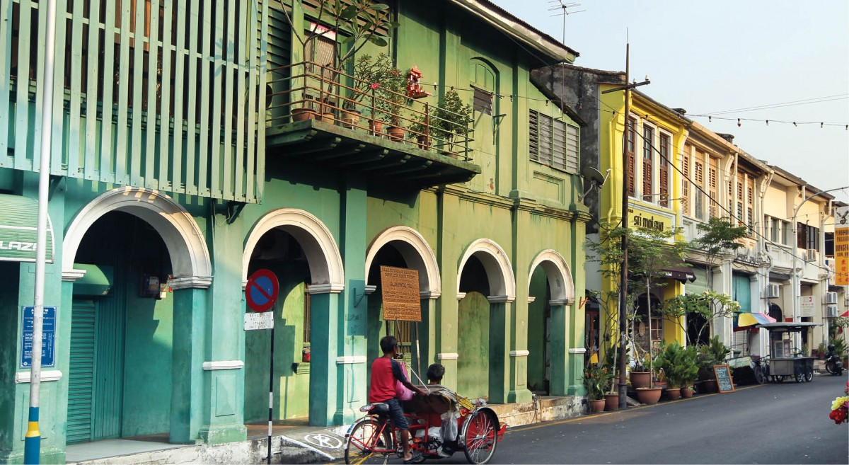 Penang Island pre-war properties
