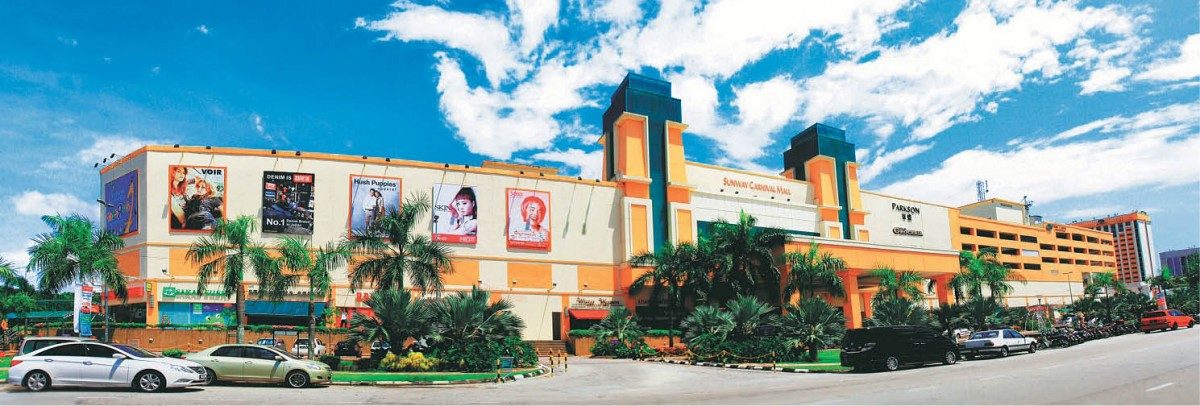 Sunway Carnival shopping mall