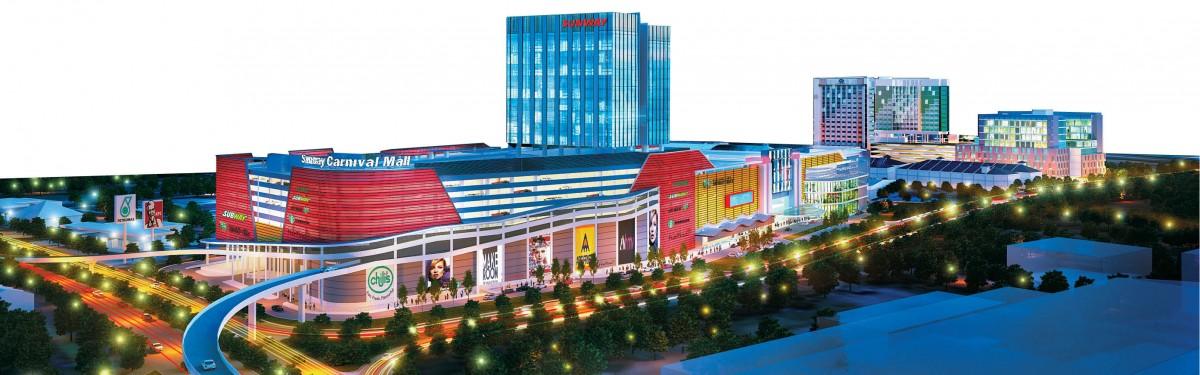 Sunway Carnival shopping mall facelift