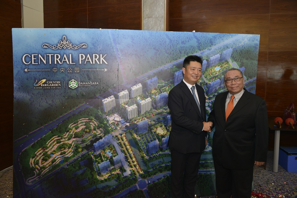 Damansara Realty In Jv With Country Garden To Develop