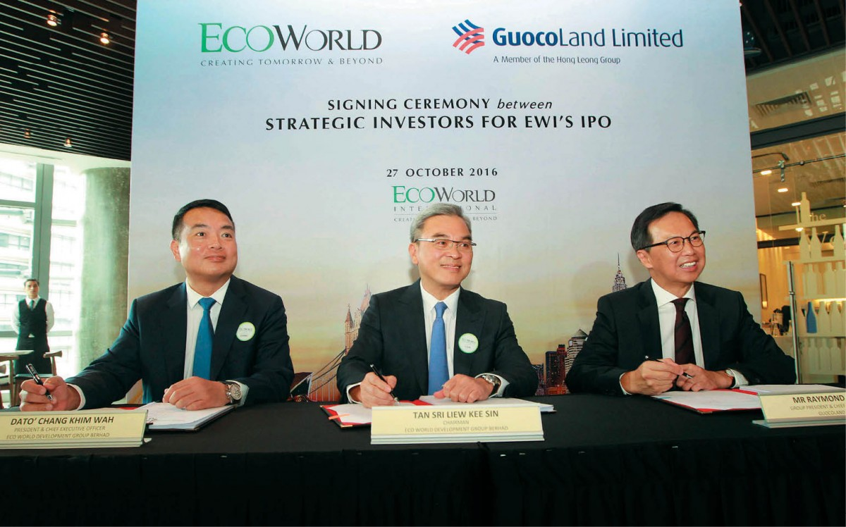 Leong Hup International Berhad: EcoWorld And GuocoLand Join Forces For Eco World