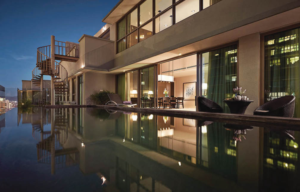 7 penthouses with private swimming pools - Swimming pool specialist malaysia ...