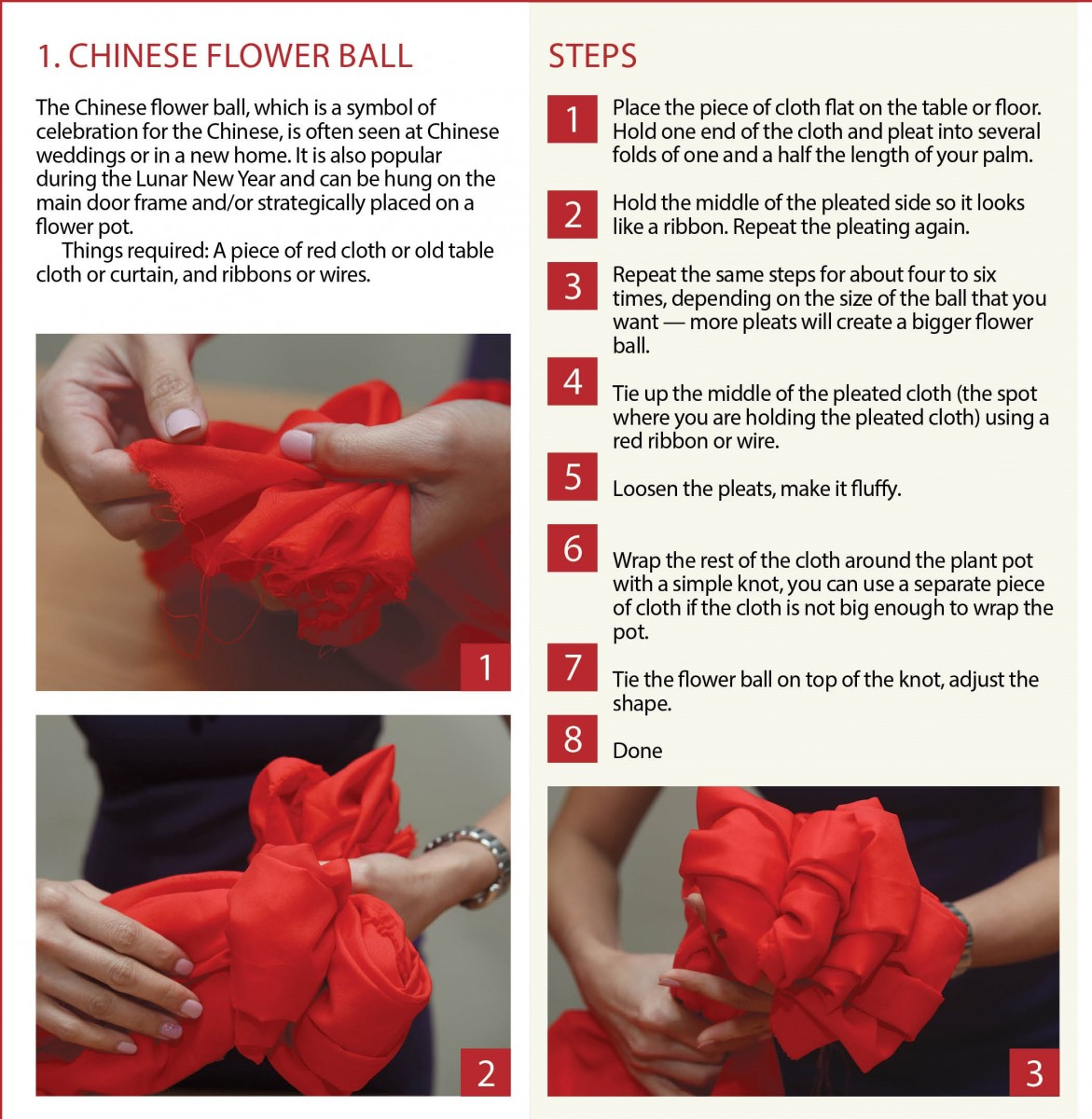Chinese Flower Ball 1