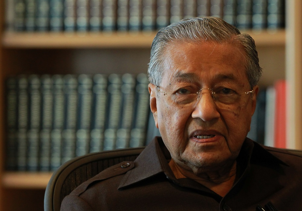 Prime Minister Tun Dr Mahathir Mohamad