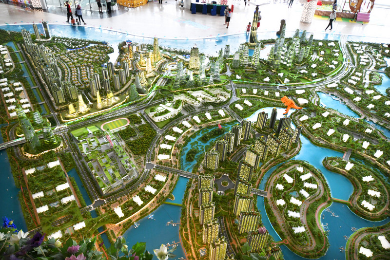 Malaysia says committee to study Forest City project
