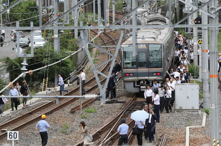 3 killed as 5.9-magnitude natural disaster  rocks Japan's Osaka