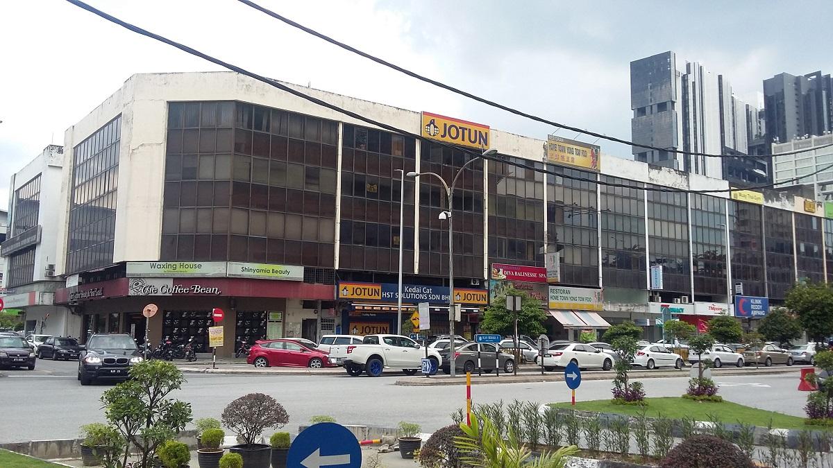 4.5-storey corner shopoffce, Taman Dato Ahmad Razali, Ampang, Selangor