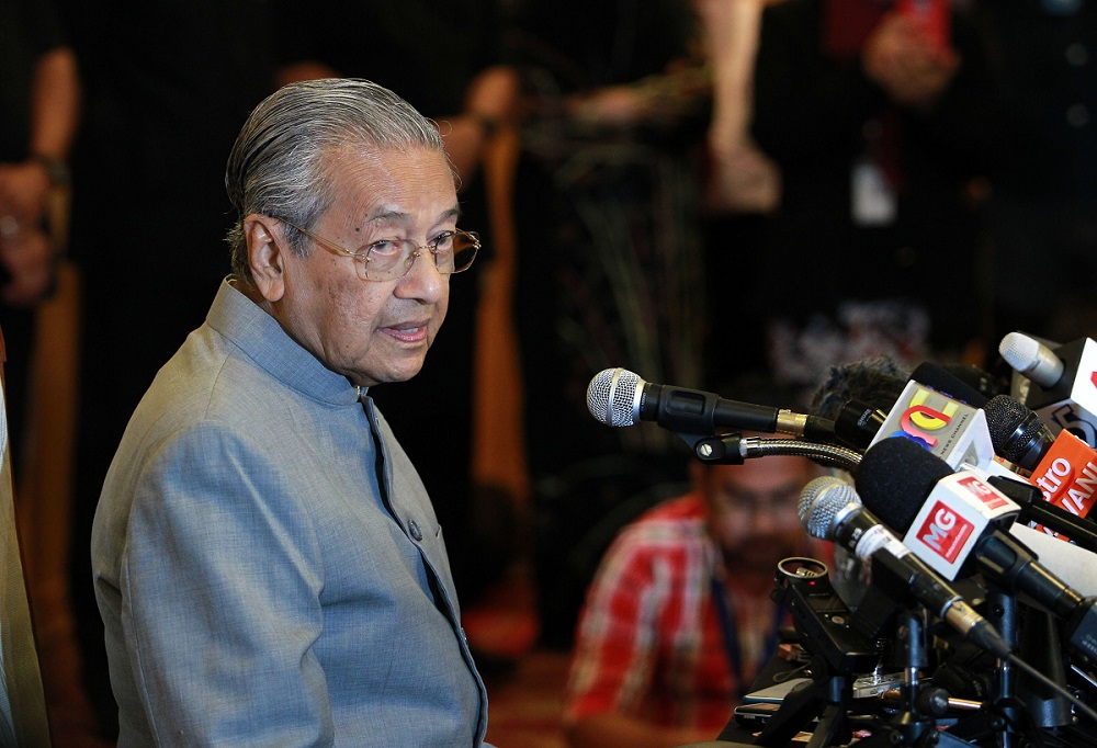 Malaysia to 'reconsider' its challenge to ICJ judgment on Pedra Branca: Mahathir