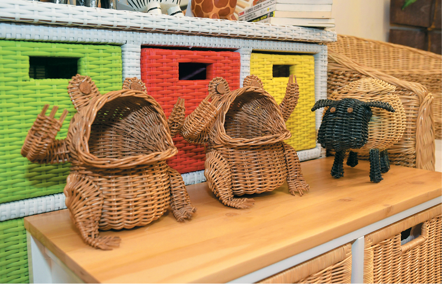 Rattan Wicker Can Be Crafted Into Different Shapes And Sizes. He Explains  That Rattan Wicker Furniture Is Very Easy ...