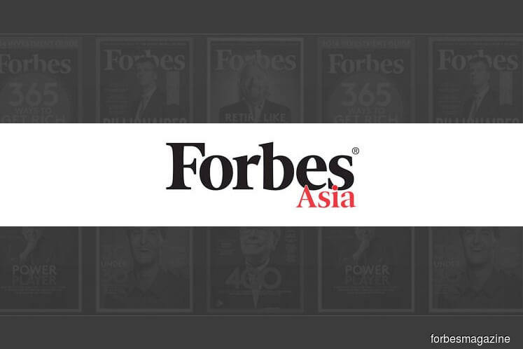 Six Malaysian firms make it to Forbes Asia's Best Over A