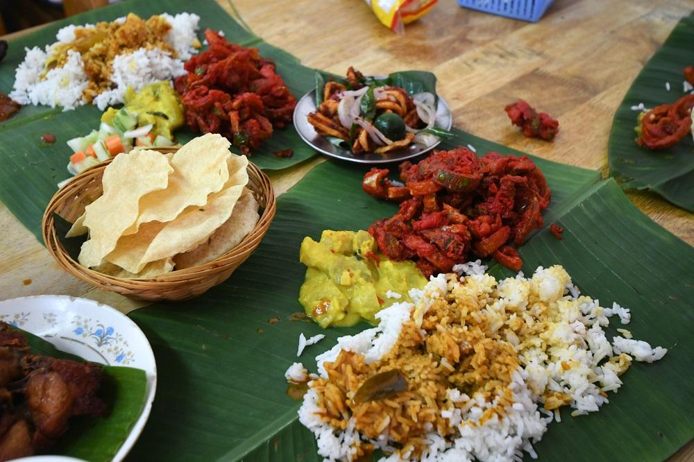 Five places known for their food: Banana leaf rice at Jalan Telawi,  Bangsar, KL | EdgeProp.my