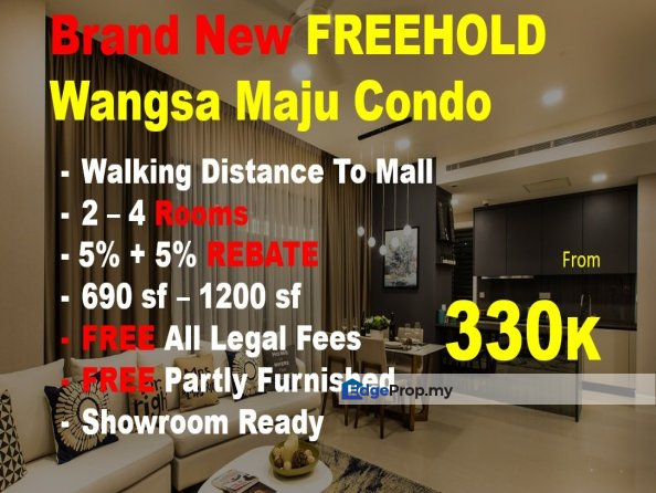 Freehold Wangsa Maju Condo For Sale Rm330000 By Oscar Koh