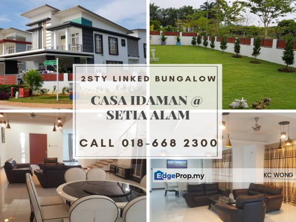 Casa Idaman, Bandar Setia Alam, Selangor, Setia Alam/Alam Nusantara
