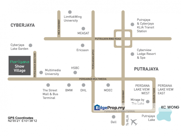 Paragon Retail Shop, Cyberjaya, Selangor, Cyberjaya