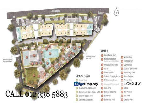 3Rooms2Baths,2Mins to Commercial Hubs,Universities, Selangor, Petaling Jaya