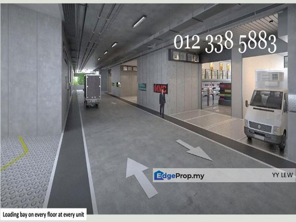 6Sty Ramp-Up Factory, Duplex Office,WareHouse, NEW, Selangor, Kota Damansara