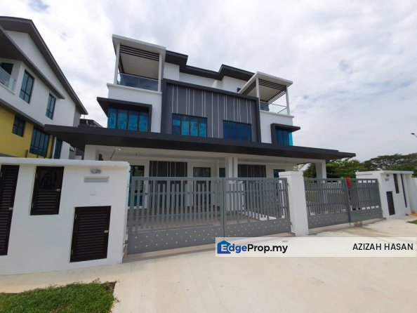 3 Storey Corner SemiD Jalan Setia Utama U13/37J, Selangor, Setia Alam/Alam Nusantara