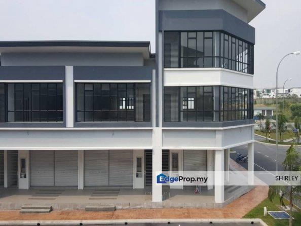 Freehold New 2storey Shop 24x75 Free MOT Sg Buloh, Selangor, Sungai Buloh