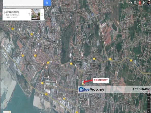 LAND FOR SALE BANDAR MELAKA, Melaka, Melaka Tengah