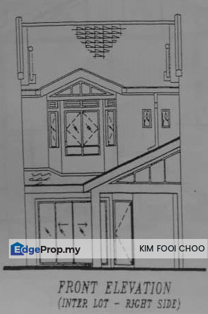 2-storey house for sale below bank valuation, Selangor, Rawang