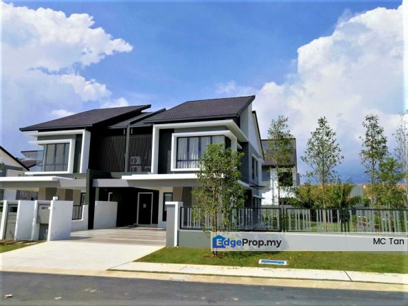 2019 FREEHOLD NEW Semi D 45x110/40x100, Selangor, Kepong