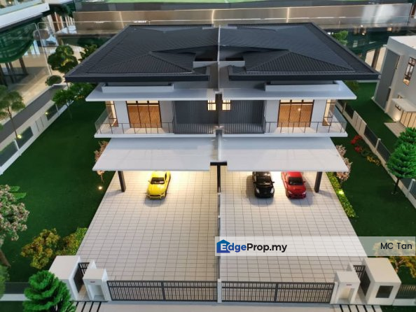 2019 FREEHOLD NEW Semi D 40x100/45x110, Kuala Lumpur, Kepong