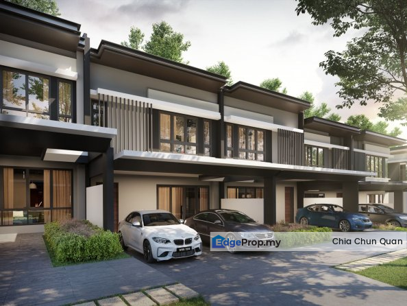 New Double Storey 26x90 Freehold Township      , Selangor, Sungai Buloh