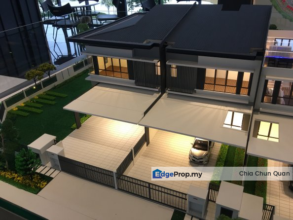 New 2-Storey 26x90 Freehold Township      , Selangor, Kepong
