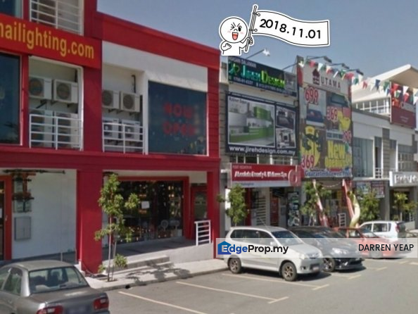 Kajang Walk Kajang Perdana 3 Storey Corner Shop, Selangor, Kajang