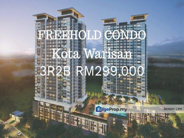NEW CONDO KOTA WARISAN PRE-LAUNCHED 3R2B!!!, Selangor, Sepang