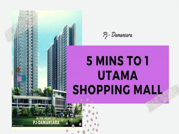 New Serviced Apartment At Bandar Utama 5Mins to OU, Selangor, Petaling Jaya