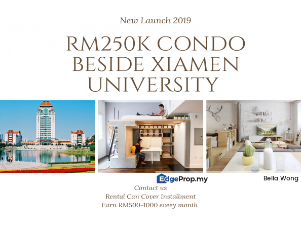 Beside University Condo RM250K FREEHOLD, Penang, Georgetown