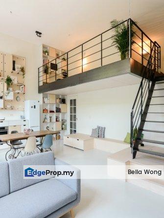 Modern Design Duplex Office Suites Full Loan MRT, Kuala Lumpur, KL City
