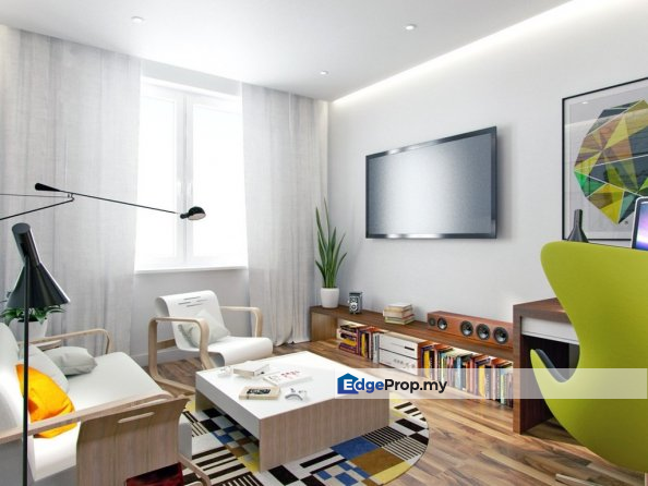 [Get 2 Units For The Price Of 1-FREEHOLD CONDO, Selangor, Dengkil