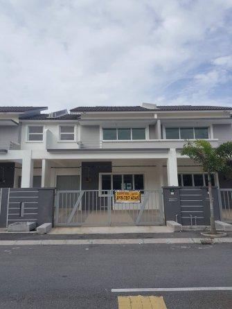 Freehold, Unoccupied 2 stry terrace, Klebang, IPOH, Perak, Klebang