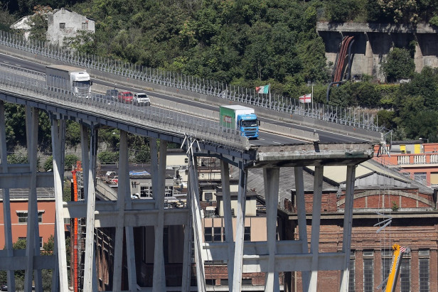 Anger grows in Italy as bridge toll rises to 38