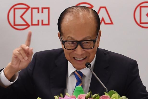 Hong Kong tycoon Li Ka-shing to step down