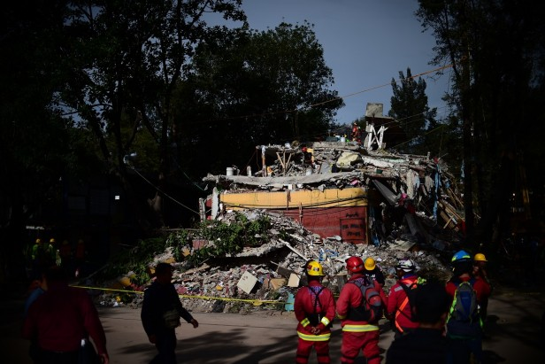 Mexico's quake-proof building codes not always respected