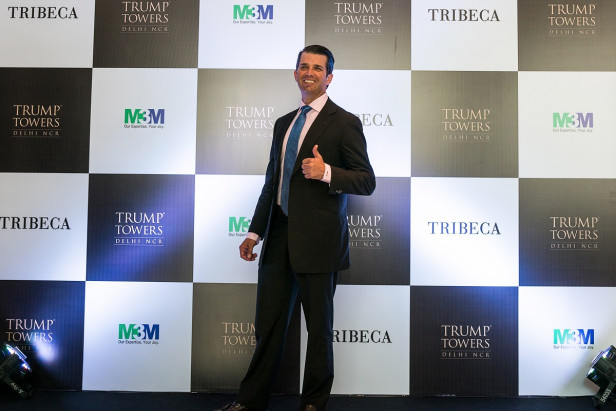 Trump junior says presidency is costing the family firm