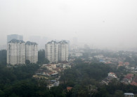 A file picture of the hazy condition in Malaysia on Sept 13, 2019. (Photo by Low Yen Yeing/EdgeProp)
