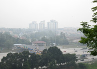 A file picture of the hazy condition in Malaysia on Sept 14, 2019. (Photo by: Low Yen Yeing/EdgeProp)