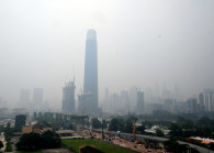 A file picture of the hazy condition in Malaysia on Sept 17, 2019. (Photo by: Low Yen Yeing/EdgeProp)