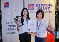 gladysgoh,groupgmofnipponpaintmsiagroup(right)withchaiminli(left).jpg By Nippon Paint Malasyia for The Edge
